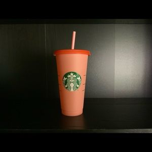 Pink Starbucks color changing cup